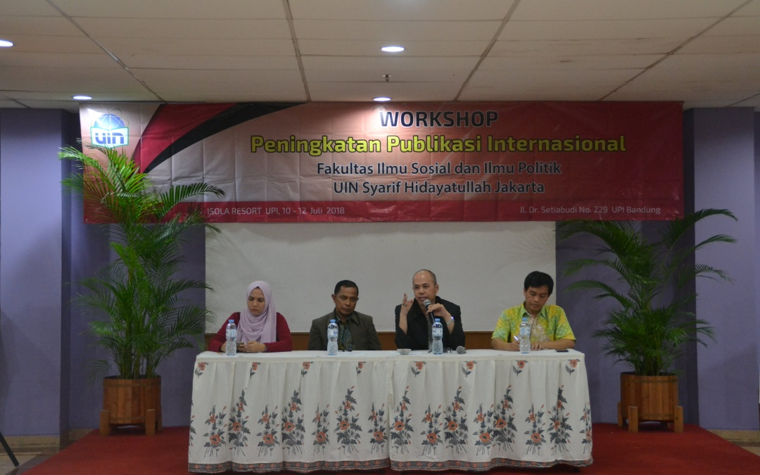 Workshop Peningkatan Publikasi Internasional