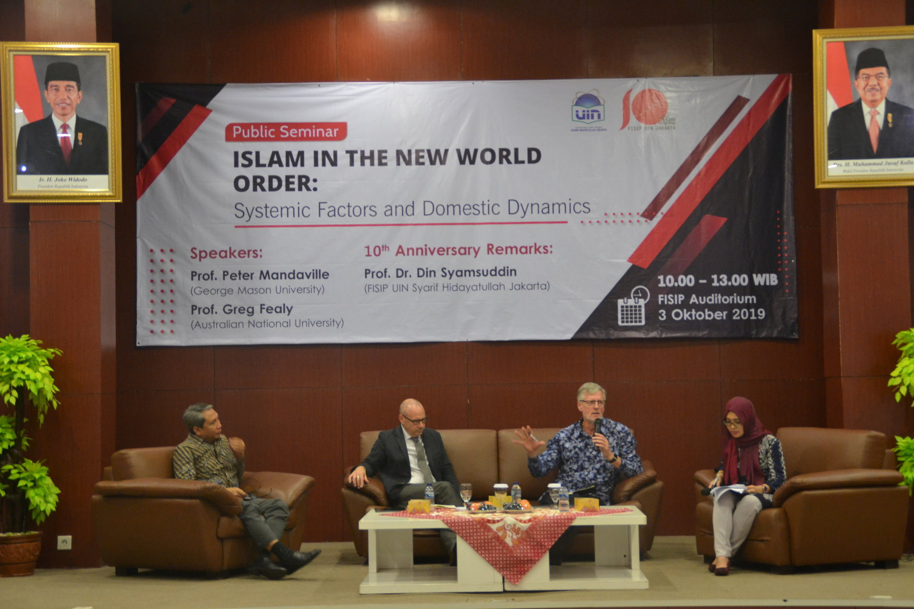 Seminar Islam In the New World Order: Systemic Factors and Domestic Dynamics