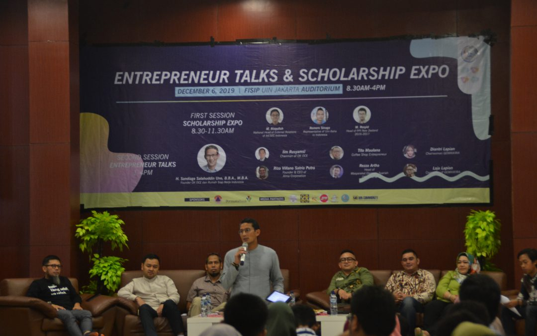Seminar Entrepreneur Talks and Scholarship Expo